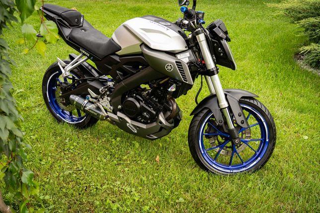 Yamaha MT125 15KM 2014r. SUPER STAN!