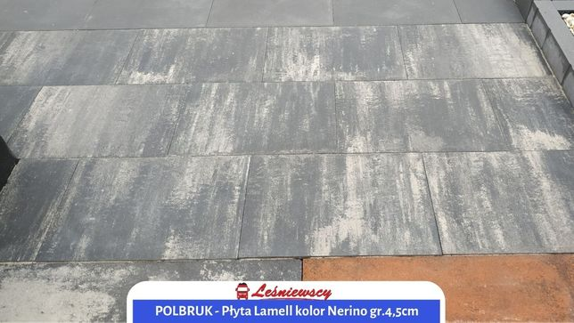 Płyta tarasowa Polbruk-Lamell kolor Nerino 60x40 grubość.4,5cm KURIER