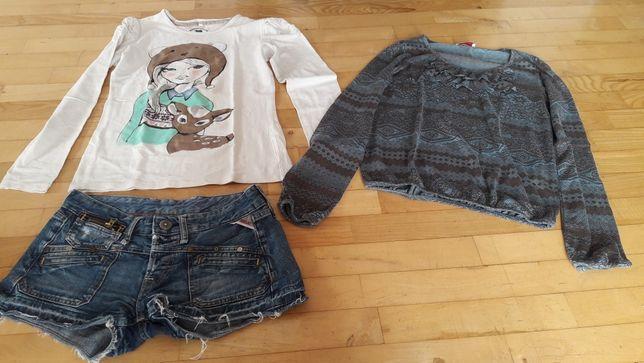 Zestaw ubrań 13 szt dla dziewczyny 158 164