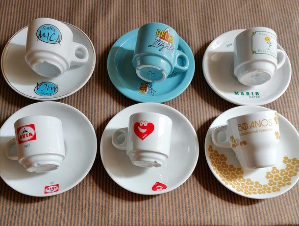 6 chávenas de café