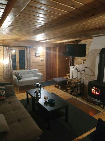 Dom nad czterema wigierskimi jeziorami | sauna bania las jezioro WPN