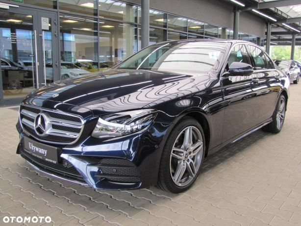 Mercedes-Benz Klasa E Salon PL, FV23%, 4x4, Kamera 360, Comand, ILS LED, AMG