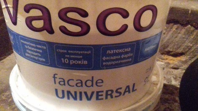 водоэмульсионная краска, фасадная VASCO fasade UNIVERSAL