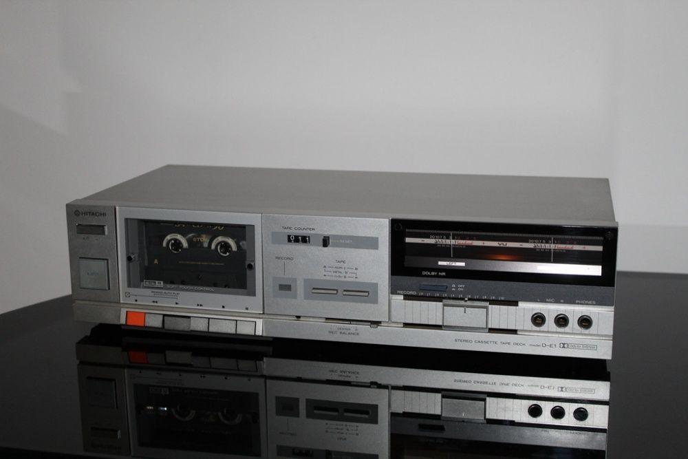 HITACHI D-E1 Magnetofon deck stereo hi-fi vintage na wychyłach Wysyłka