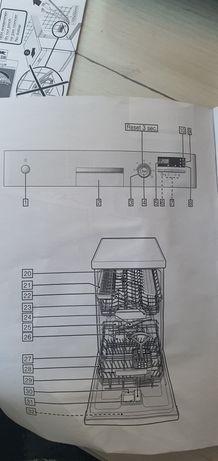Zmywarka Siemens 45 wolnostojąca