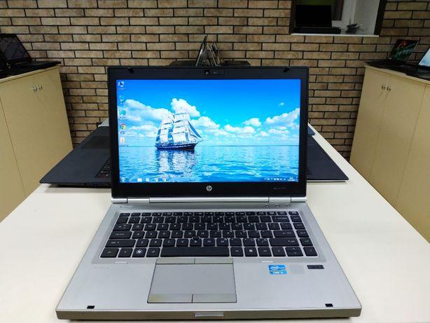 Крутой ноутбук для работы, HP 8460p ATI, i5, 6gb, SSD, HD+, intel
