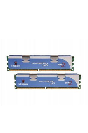 pamięć DDR2 4GB 800MHz PC6400 Kingston HyperX. 2x 2GB DDR2