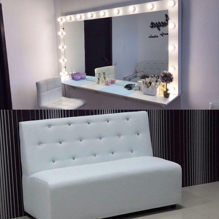 Срочно диван + зеркало , для салона коасоты Днепр - изображение 1