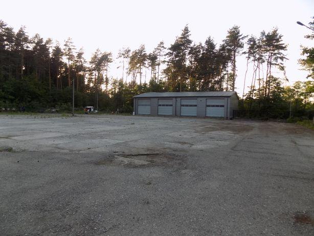 hala 288 m2 warsztatowa,hurtownia,produkcja, działka 53 a, ogrodzona