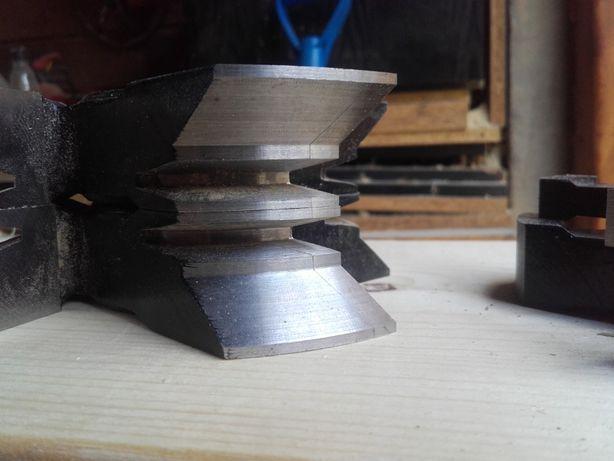 Zestaw frezów do bala do ścian drewnianych