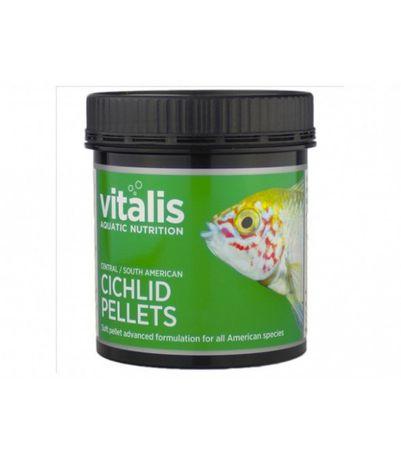 Vitalis C/S American Cichlid Pellets M Powoli tonący, miękki granulat