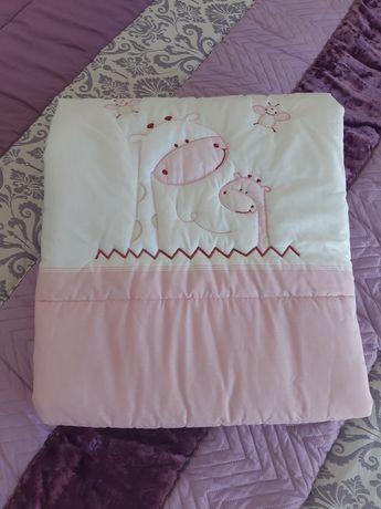 Colcha para berço lençóis mantas resguardo de colchão