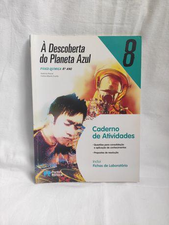Caderno de atividades de Físico-Química 8° ano