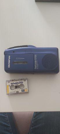 Dyktafon na kasetę mini +baterie