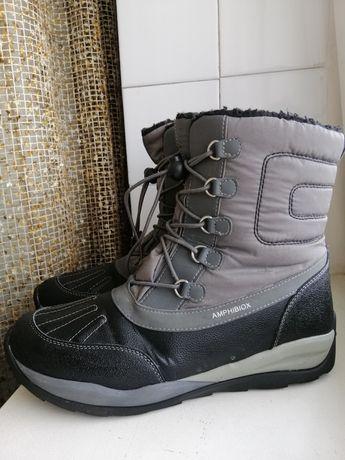Фирменные термо ботинки Geox, tex 41р. оригинал