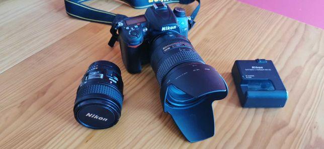 Nikon D7000+Lente 28-300mm ED VR +Lente Micro Nikkor 60mm