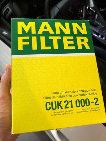 Filtr kabinowy MANN - Citroen C3 C4 CACTUS DS3 Peugeot 207 208 WĘGLOWY