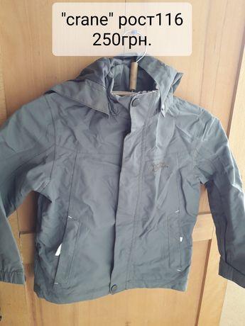Куртка/ветровка/дождевик Crane на рост 116 см