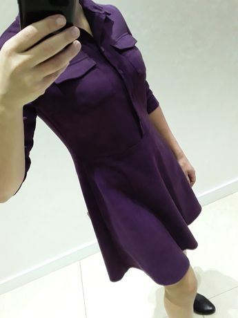 Продам плаття, замш