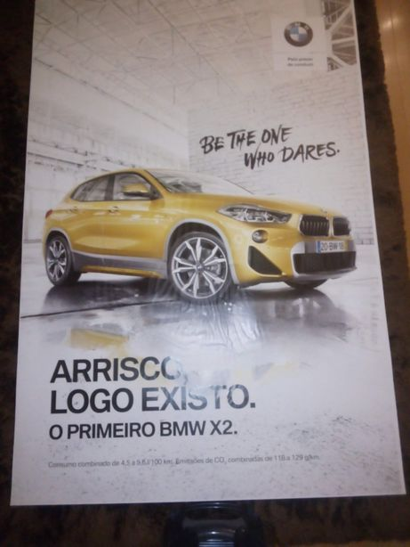 "Poster BMW ""Be The One Who Dares"""