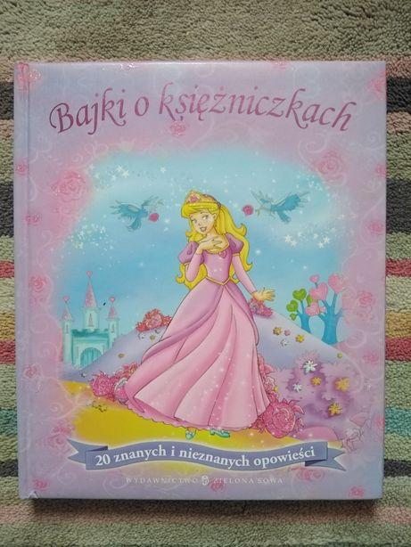 Bajki o księżniczkach książka dla dzieci