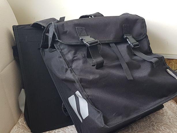 Sakwa rowerowa Basil XXL podwójna na bagażnik torba rowerowa