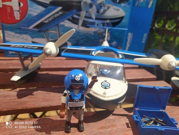 Playmobil Action Policyjny samolot 9436