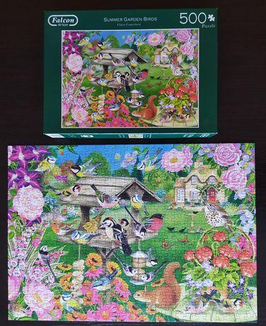 Puzzle 500 Falcon Summer Garden birds