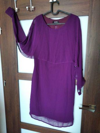 Sukienka bakłażan