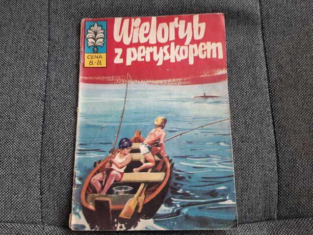 """Komiks Kapitan Żbik """"Wieloryb z peryskopem"""" część 1 wyd.I 1973 r."""