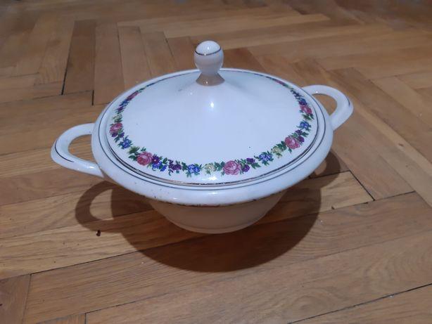 Zastawa obiadowa Ćmielów, ceramika porcelana