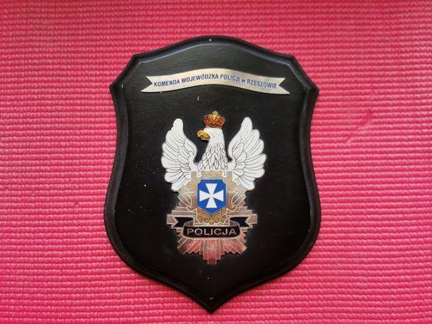 Ryngraf plaieta Komenda Policji Rzeszów