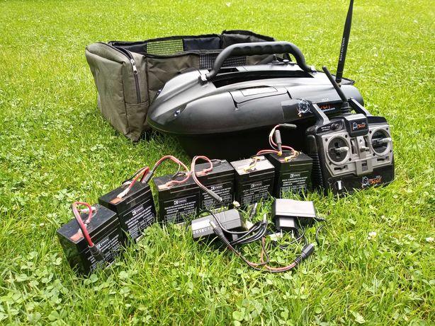 Łódka zanętowa VegaBoat Micro - akumulatorki x 6 szt