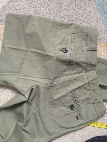 36 S Mango spodnie kolor khaki
