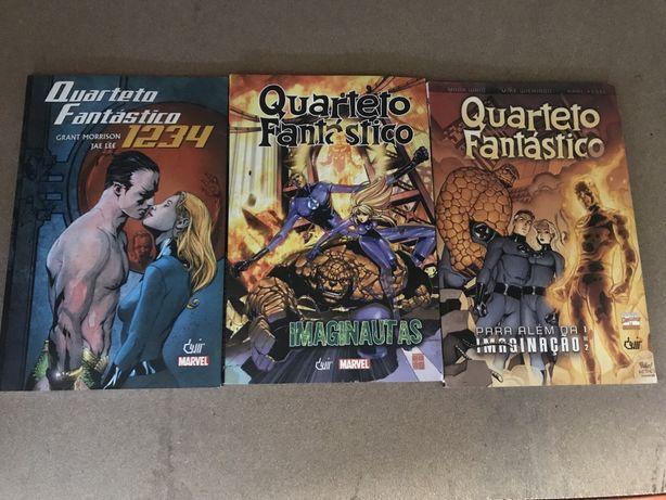 Quarteto Fantastico Livro Comic