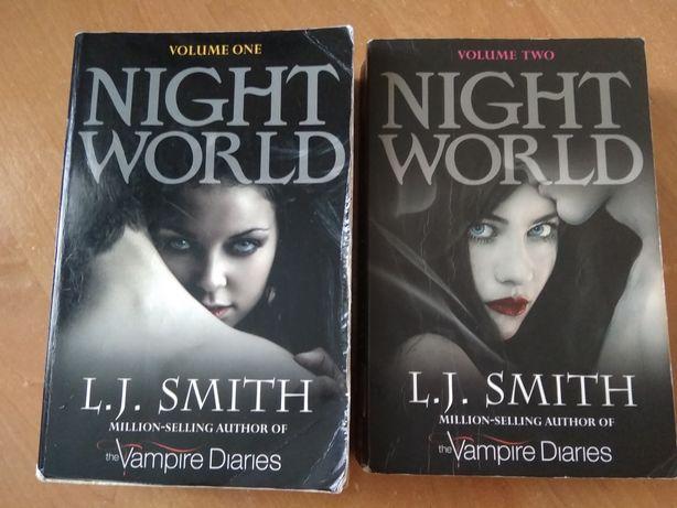 Книги L.J. Smith Night World две части на английском языке