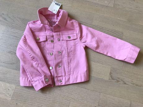 Джинсовая куртка на девочку HM
