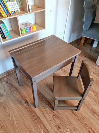 Ikea Sundvik stolik i krzesełko Dziecięce drewniane