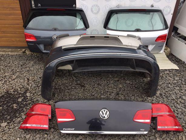 Ляда, багажник, задний бампер, фанарь, фонарь VW Passat Пасат B7