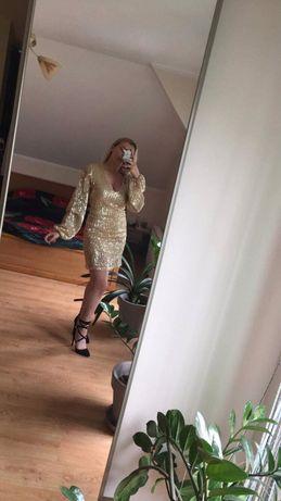 Sukienka NA-KD złota