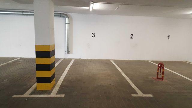 Miejsce parkingowe w garażu podziemnym. Lublin, Kryształowa 13