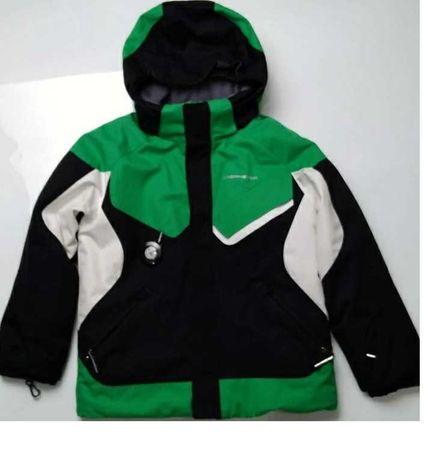 7 122-128 см Зимняя Б/У Obermeyer куртка, курточка, мембранная,теплая