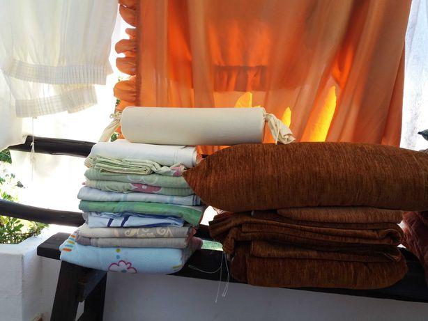 almofadas toalhas mesa banho praia cortinados capas