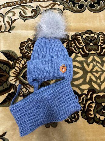 Продам шапку+хомут