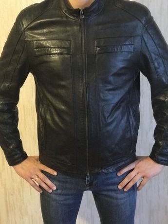 Куртка мужская кожа осень/весна 50 р.