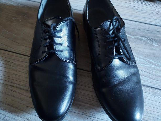 Buty jak nowe Kornecki skóra r.35 komunia