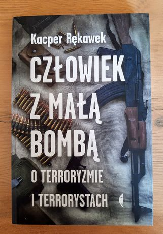 Książka Człowiek z małą bombą