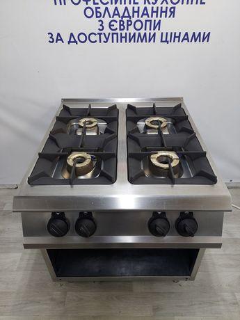 Професійна промислова газова плита Італія для закладів харчування