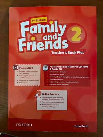 Family and Friends 2 Teacher's Book  2nd ed с дисками НОВАЯ!