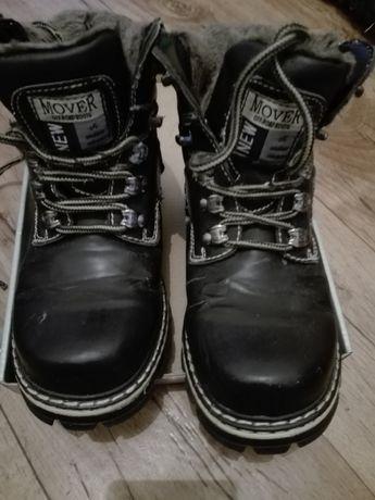 Buty zimowe czarne
